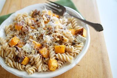 Butternut Squash, Parmesan, and Pasta: Butternut Squash, Butternutsquash, Food, Naturally Ella, Fall Recipe, Parmesan, Pasta Recipe, Squashes, Recipe Full