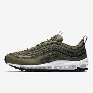 f328e93848b9 Mens Womens Shoes Nike Air Max 97 AOP Tiger Camo Black Khaki Velvet Brown  AQ4132 200
