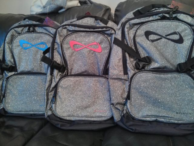 Nfinity Cheerleading Cheer Sportgym Backpack Sparkle All Colour Princess