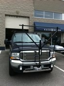 Ford F-350 with a Yakima Drydock and roof rack system #hitchngear #yakima