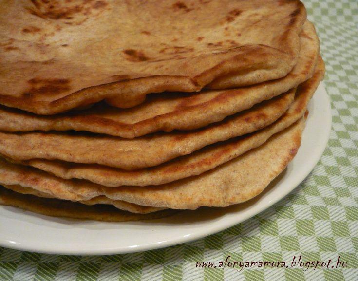 Az áfonya mámora: Vajas naan, indiai kenyér