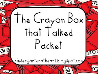 the crayon box that talked... printables