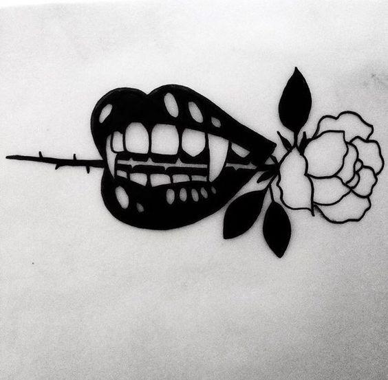 I like this ** johnny gloom tattoo...