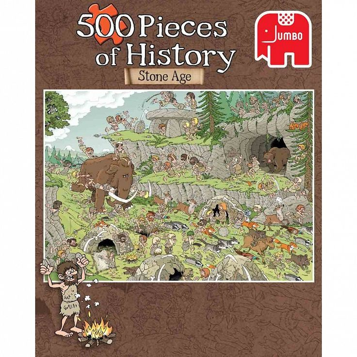 Пазл 500 Jumbo История древнего мира (19200)