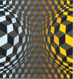 Victor Vasarely, #art #abstract #Vassarely                                                                                                                                                                                 Mais