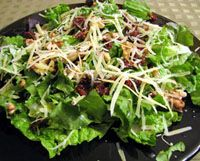 10 Healthy Spanish Salads to Beat the Heat: Green Salad with Manchego Cheese and Walnuts