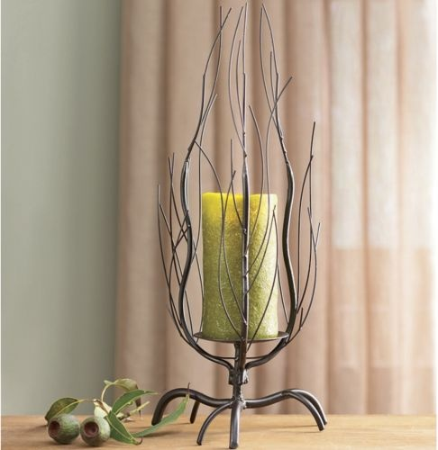 Twig Candleholder For The Home Pinterest