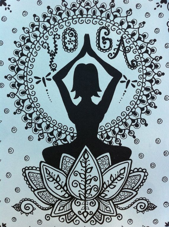 YOGA HeNnA Kit Decorate your yoga body...