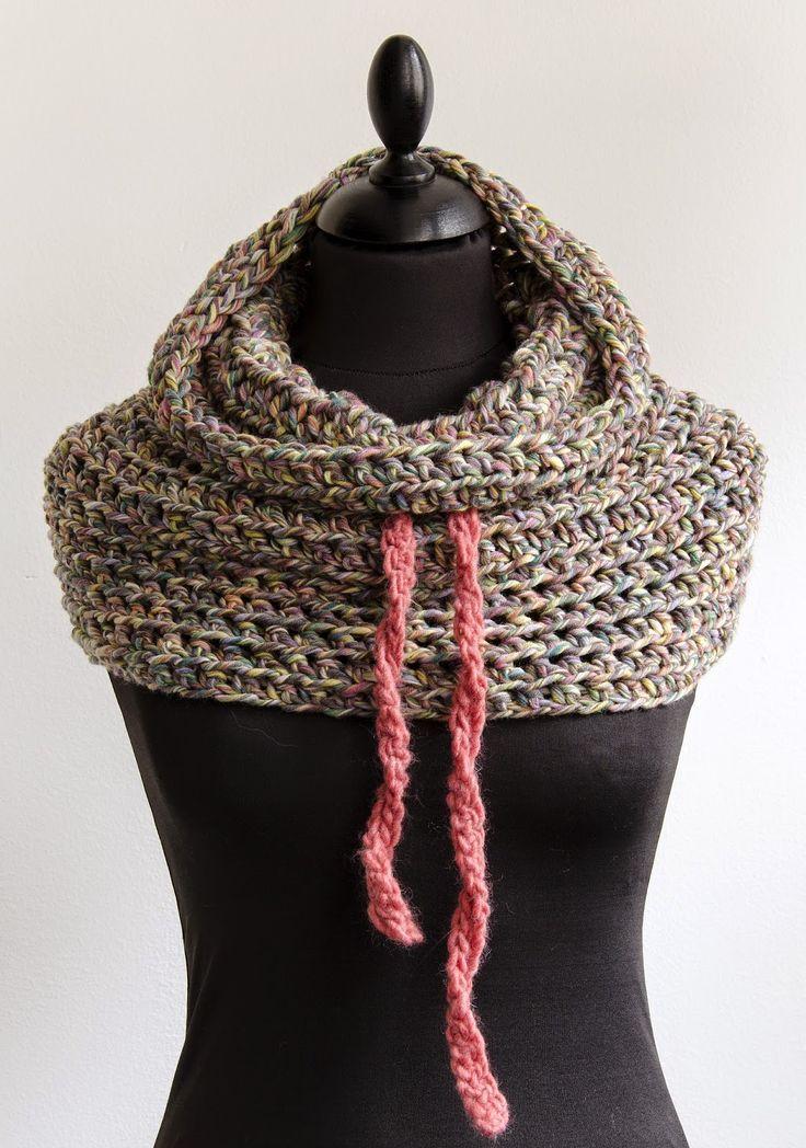 CuteDutch: Colsjaal Colour Touch, #haken, gratis patroon, Nederlands, col, sjaal, eenvoudig te maken