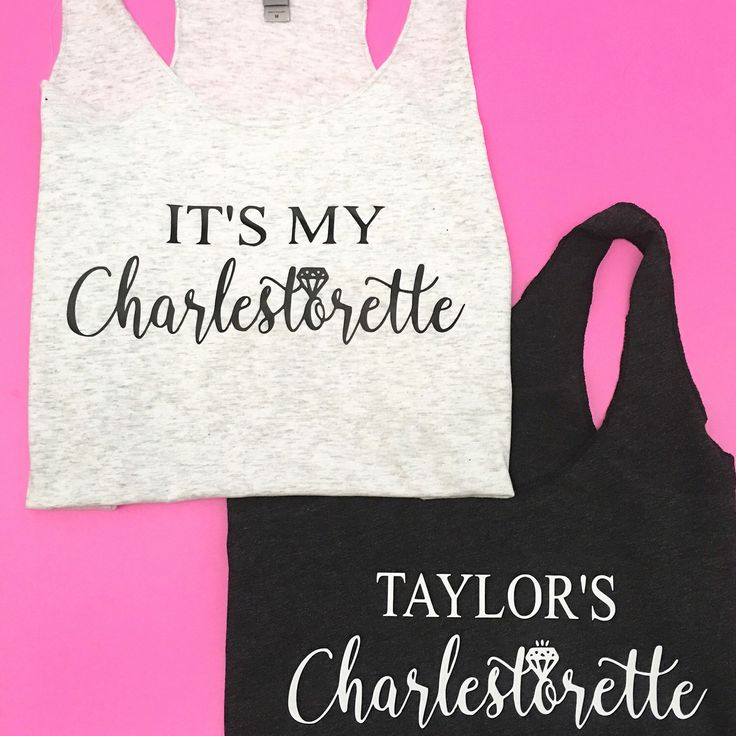 Shout out to all those brides celebrating their Bachelorette Weekends in CHARLESTON!   It's My Charlestorette Tank Top, Charleston Bachelorette Party, Charleston South Carolina, Charleston, SC , Bachelorette Tank, Bachelorette Top, Bachelorette Tee
