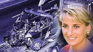 {Princess Diana dies in car accident after the paparazzi follows her, causing the accident. theguardian}