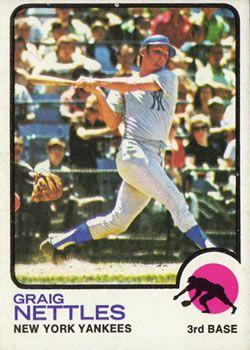1973 Topps #498 Graig Nettles Front