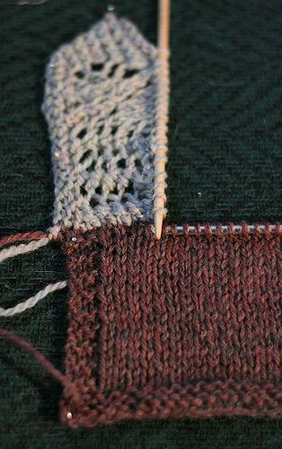 LiaKnits: KNITTED-ON BORDER