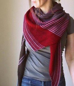 Warming Knitted Shawl Patterns