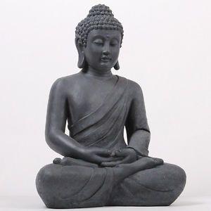 XXL-50-cm-Riesige-Deko-Asien-Garten-BUDDHA-Figur-Statue-Skulptur-FENG-SHUI-NEU