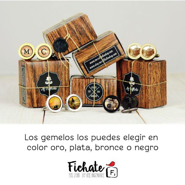 Si buscas un regalo para él ,que sea original y diferente, en Fichate tenemos para ti los gemelos de Mr Cufflinks, montados a mano y de 18 mm de diámetro. Adquiérelos en nuestra tienda en el color que más te guste >>> http://www.fichate.com/categoria-producto/mr-cufflinks/disenos/ #Fichate #RegalosFichate #Regalosparael #GemelosMrCufflinks #HandMade #HechosAMano