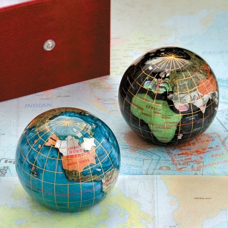 Gemstone Globe Paperweight | Improvements