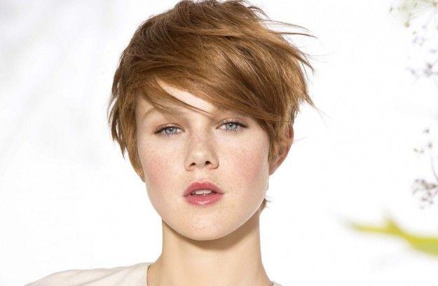 I tagli di capelli giusti per un viso rotondo