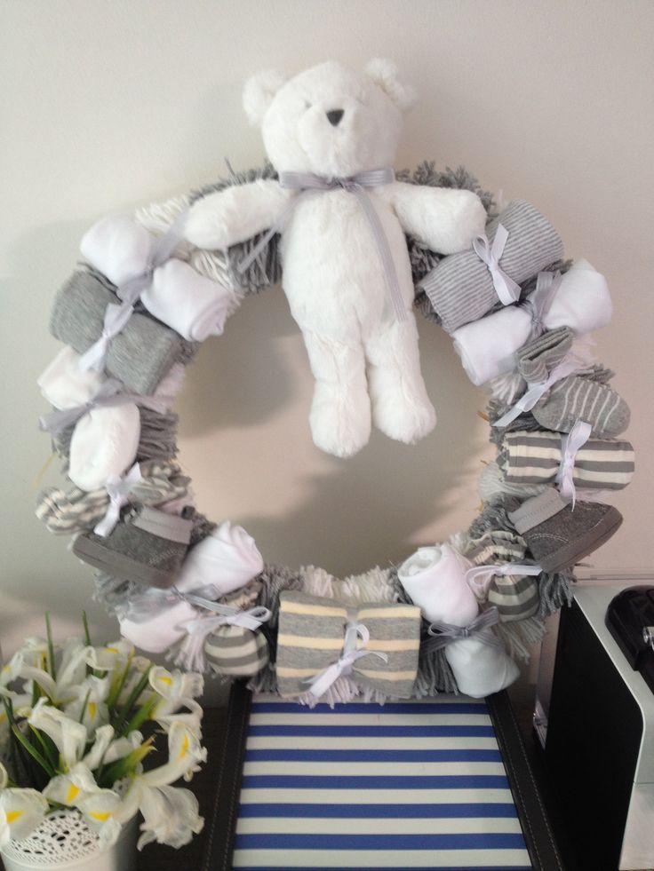 Baby Shower or nursery wreath
