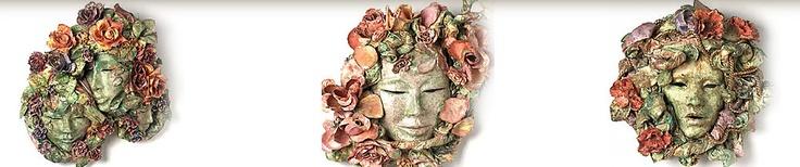 Gabriella O. Fuchs | masker kunst | billedkunst | billedkunst masker |kunst masker | kunstmasker - Galleri