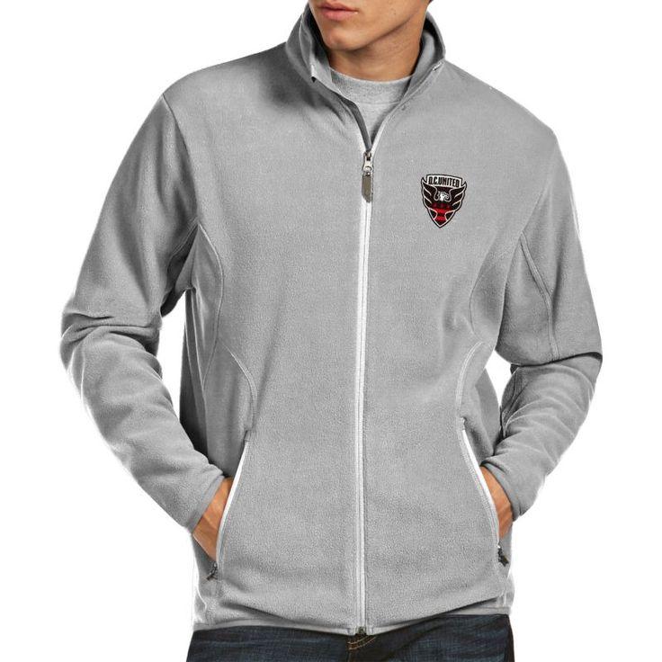Antigua Men's DC United Ice (White) Jacket, Size: Medium