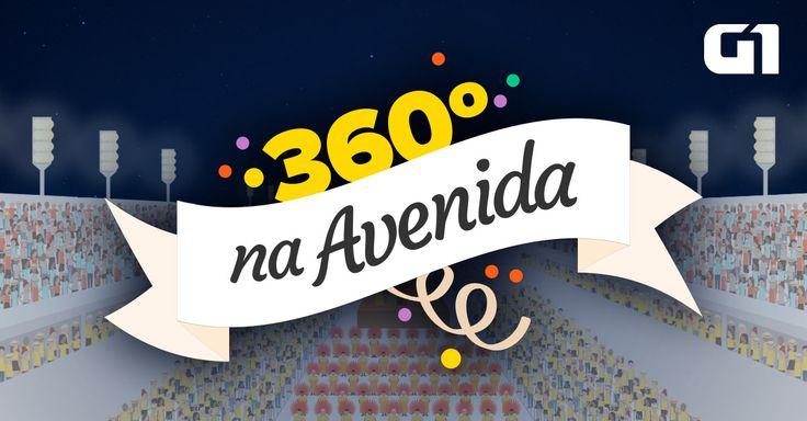 Veja por vários ângulos os desfiles das escolas de samba do Rio de Janeiro no sambódromo da Marquês de Sapucaí