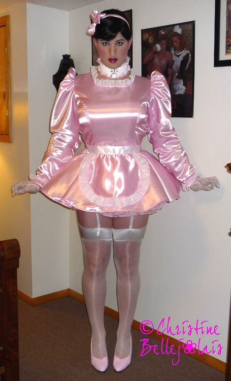 Christine Bellejolais always strikes the right blend of shame, vulnerability and sissy sexiness.: Sissy Stuff, Maids, Pink Sissy, Crossdressers, Sissy Sexy, Christine Bellejolai, Things Sissy, Boys Photo, Sissy Girls