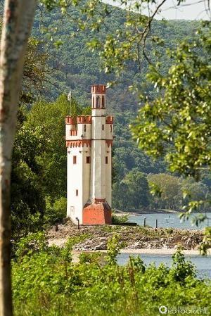 Mauseturm Lighthouse, Germany by Eva0707