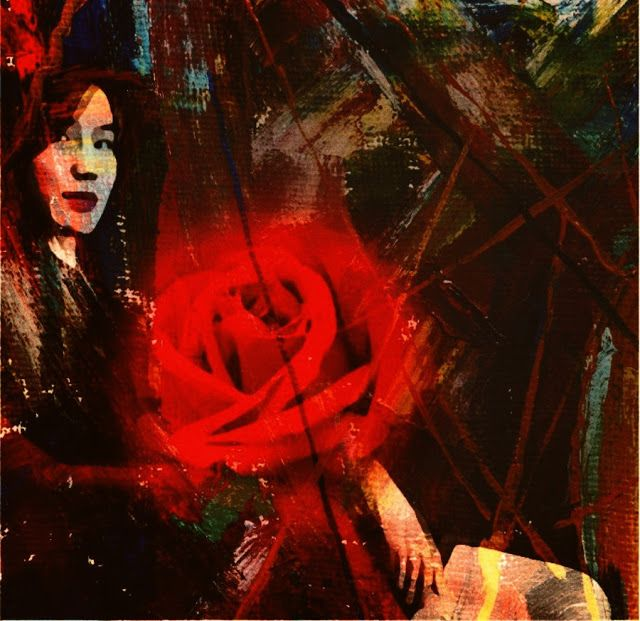 Lydia Anneli Bleth: BELLA DONNA digital art