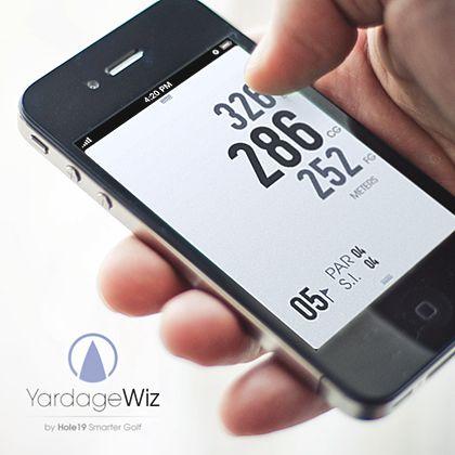 YardageWiz - Minimal GPS Rangefinder by Pedro Lança. Tagged with: . Project Description: Minimalistic Golf GPS Rangefinder app. To be released soon.