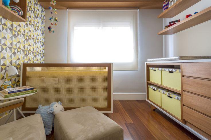 Quarto infantil com mobiliário feito sob medida e estilo retrô | CASA CLAUDIA