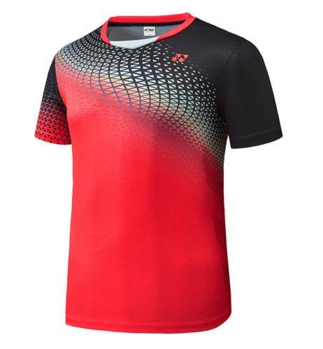 best sneakers 414cd 75ac5 Yonex-F-W-Coleccion-Hombre-Camisetas-Badminton-Redondo-Gris-Ropa-Nuevo -con-etiquetas-73TS021M