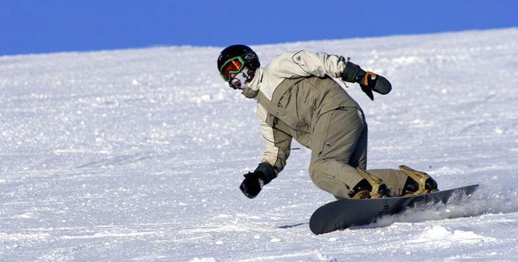 Tandemsnowboard in Bayerisch Eisenstein, Bayern #Wintersport #Schnee #Sportart