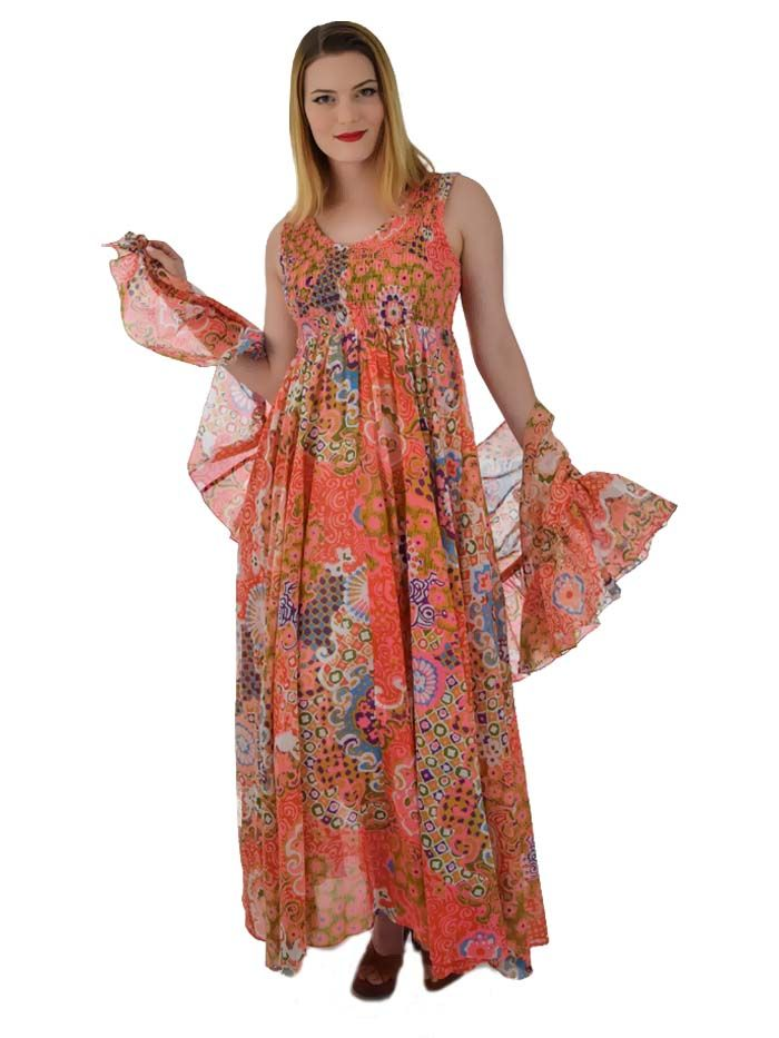 70s style long dresses