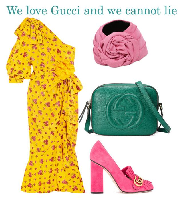 """""""We love Gucci and we cannot lie"""" by ralugoii on Polyvore featuring Gucci"""