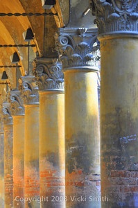 Bologna portico, region of Emilia Romagna Italy