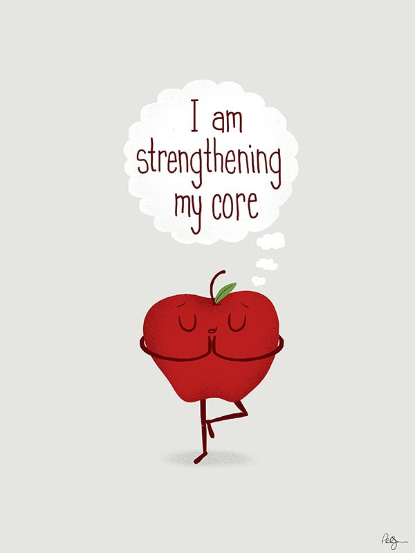 "designersof: "" Apple Core Workout by Phil Jones """