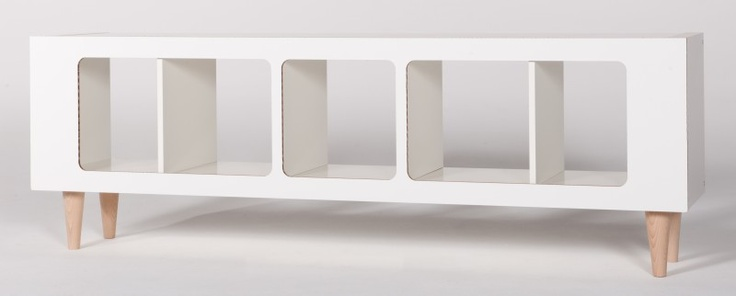 panel and legs by Qustum for Ikea Expedit