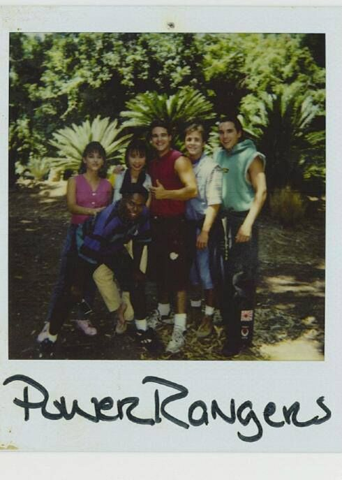 Mighty Morphin Power Rangers :)