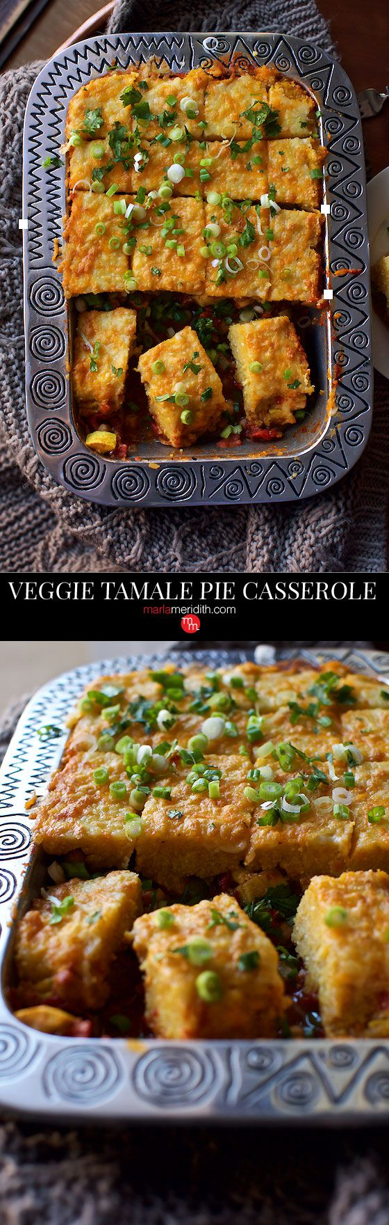 Veggie Tamale Pie Casserole #recipe is a family favorite! An energy packed, delicious meals! Gluten free too! MarlaMeridith.com ( @marlameridith )