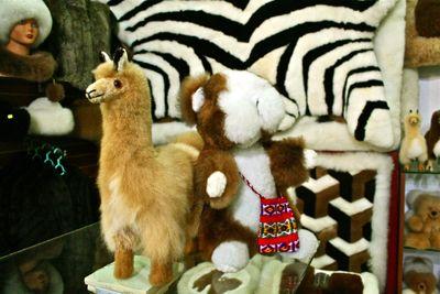 Peruvian Alpaca stuffed animal