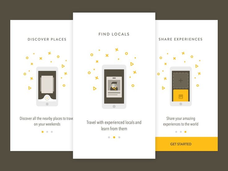 Examples of Onboarding Design in Mobile Apps – Inspiration Supply – Medium