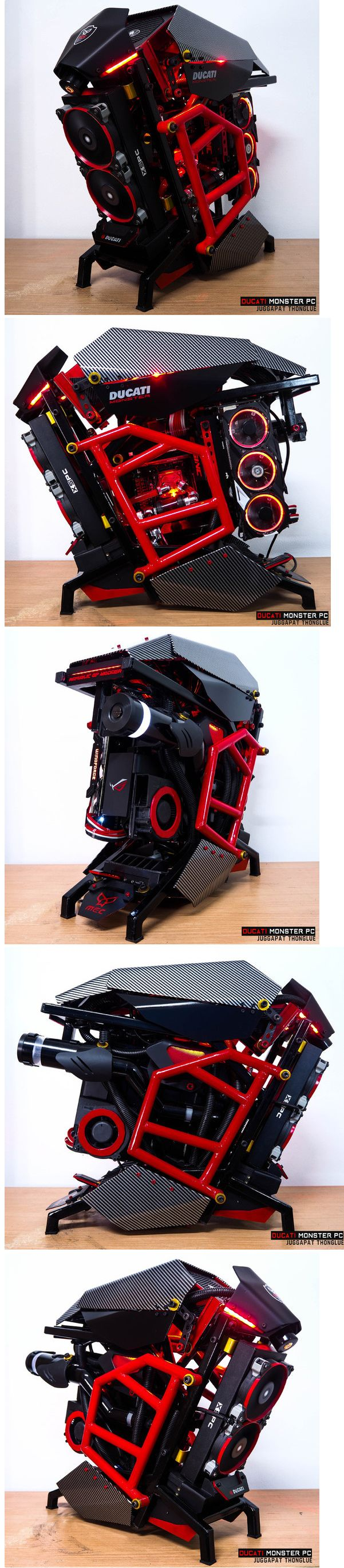 Ducati Monster PC Specs: CPU : Intel Core I7-3770sMB : Biostar TZ77XE4VGA : Gigabyte GTX 970 Extreme PSU : Cougar CMX 700w