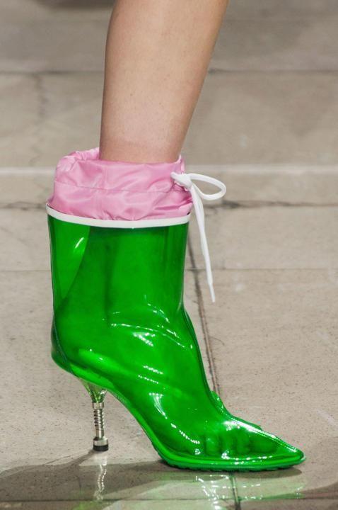 Les chaussures les plus surprenantes de la Fashion Week