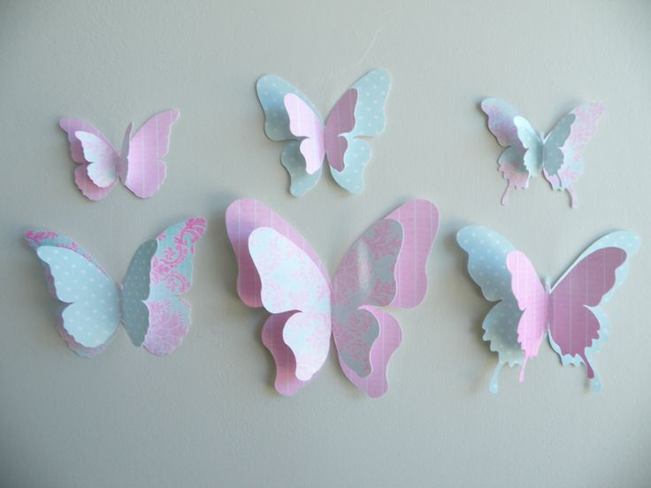 Butterfly wall decorations