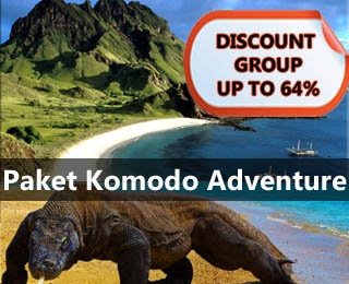 Paket Komodo Adventure. Discount up to 64%. Visit: Rinca Island, Pink Beach, Diving in Komodo Island, Bidadari Island for swimming and snorkeling, etc. Call us: 021-2316306 or visit www.ezytravel.co.id