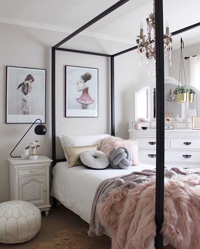 1000+ Ideas About 4 Poster Beds On Pinterest