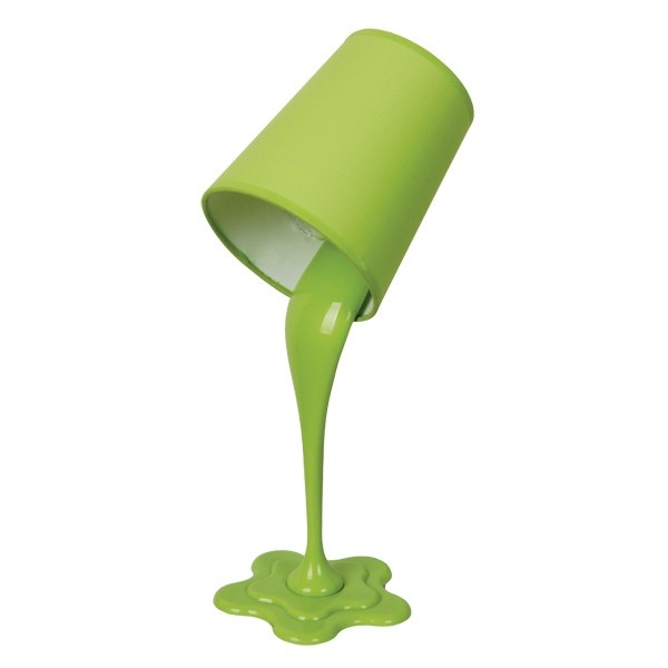 I need to find a place in the house for this... Paint Spot Table Lamp in Lime