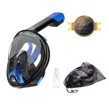 2017 THENICE New Full Face Scuba Snorkel Diving Mask Set  Dry Snorkeing Swimming Fishing Equipment Underwater Sport