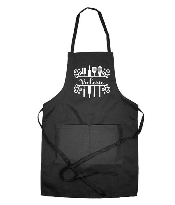 Personalised Embroidered Kitchen Apron
